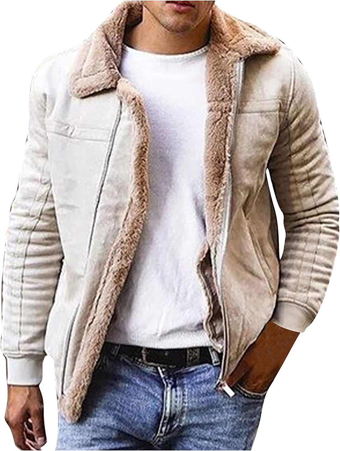Men's New mail order Fleece Jacket Winter Warm Military Casual Coat Jack Quantity limited Bomber