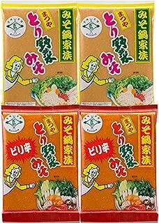 まつや とり野菜みそ200g 4袋セット (レギュラー2+ピリ辛2)