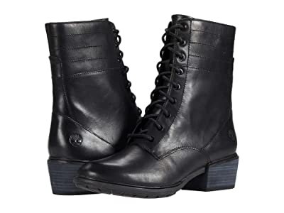Timberland Sutherlin Bay Side Zip Boot (Black) Women