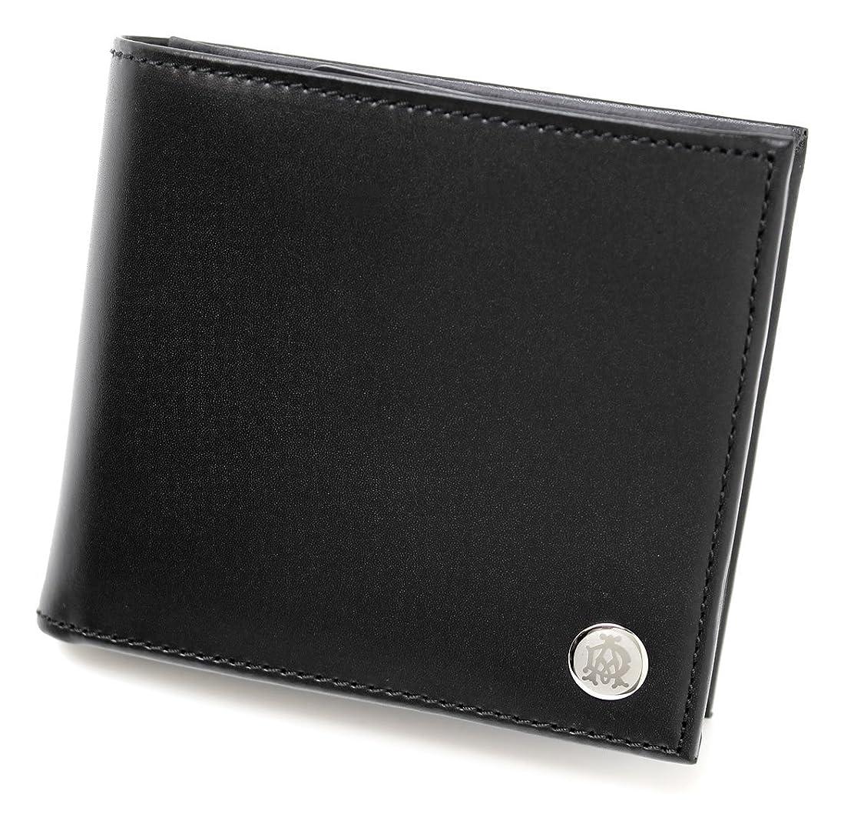 パスポート大混乱トランスペアレントDUNHILL 【ダンヒル】 二つ折財布 小銭入れ付 L2LJ32A GINZA BLACK