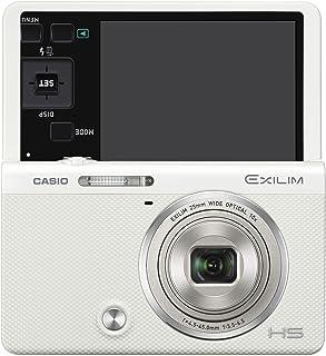 CASIO デジタルカメラ EXILIM EX-ZR70WE 「自分撮りチルト液晶」 「メイクアップ&セルフィーアート」 EXZR70 ホワイト