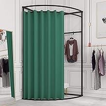 Semi-circular Corner Fitting Room Portable Mobile Fitting Room Tube Diameter 25mm, Strong Bearing Capacity, Built-in Hange...