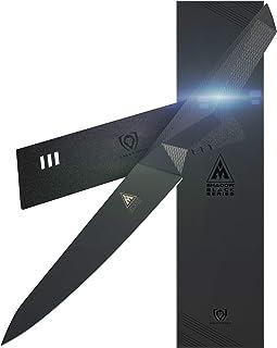 "Dalstrong - Shadow Black Series - Black Titanium Nitride Coated German HC Steel - Sheath (5.5"" Utility)"