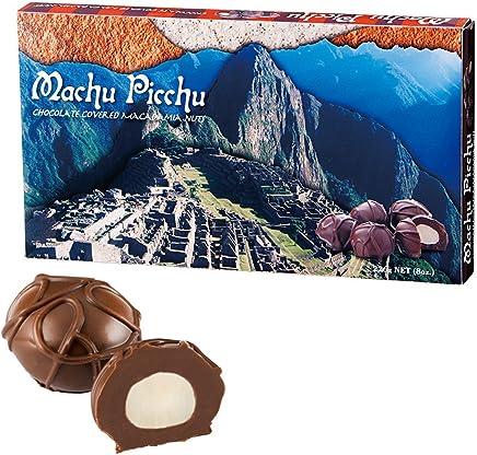 ペルーお土産 マチュピチュ マカデミアナッツチョコレート