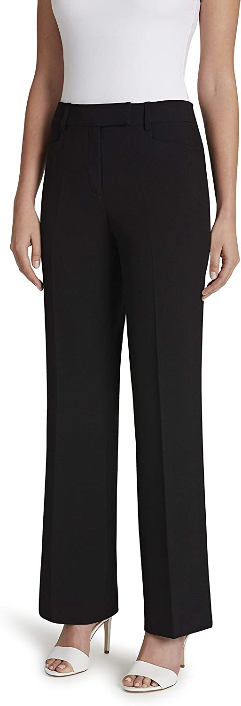 Tahari ASL Women's Wide Leg Combo Trouser Pant