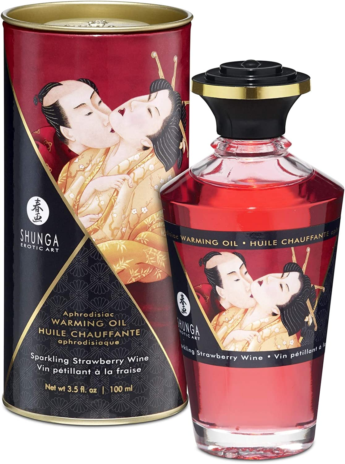 At the price Beauty products Aphrodisiac Warming Oil Strawberries Champagne -
