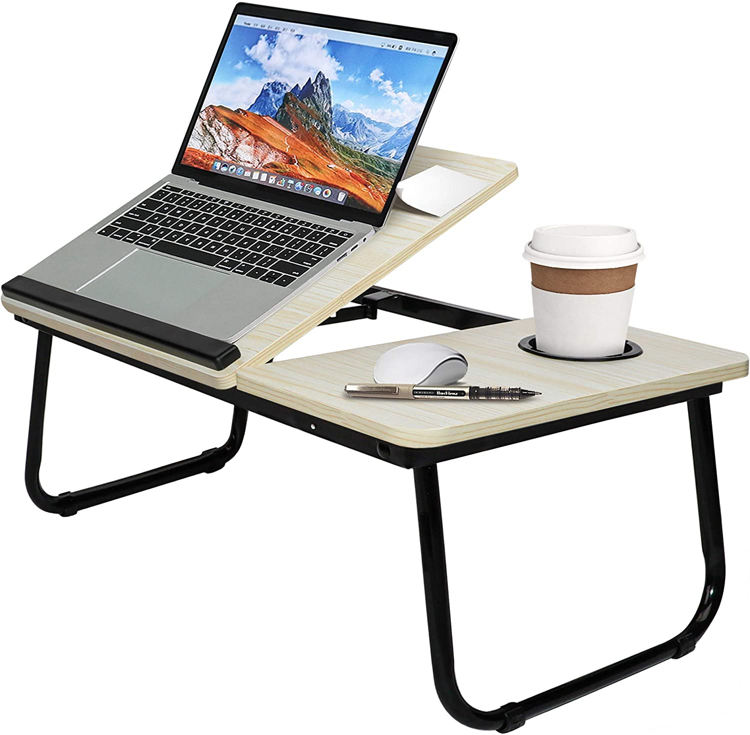 Lap Desk Adjustable Laptop with to Tilting Top-Fits 15. OFFicial mail order New product! New type Up