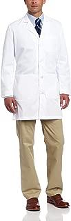 Landau Men's Premium 37 inch 5-Pocket White Medical Lab Coat Uniform