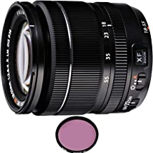 FUJIFILM XF 18-55mm f/2.8-4 R LM OIS Lens with Pro Filter (Certified Refurbished)