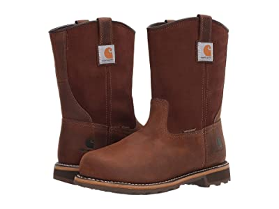 Carhartt Traditional 10 Pull-On Waterproof Soft Toe (Bison Brown Oil Tan) Men