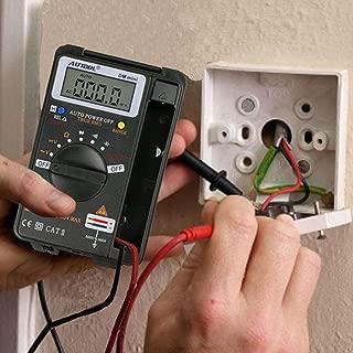 AUTOOL Auto Ranging 4000 Counts Mini Pocket Digital Multimeter Voltmeter Ammeter Tester Resistance Ohm Volt Amp Meter CATII