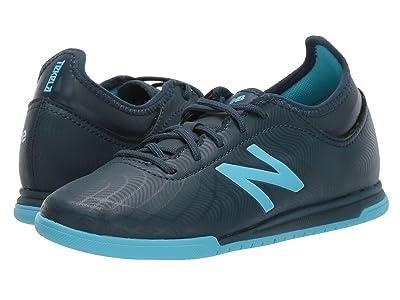 New Balance Kids JSTTIv2 Soccer (Little Kid/Big Kid) (Supercell/Bayside Blue) Kids Shoes