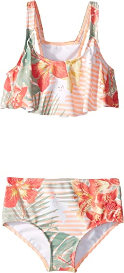 Lush Florals Flutter Set (Toddler/Little Kids)