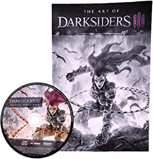 Darksiders III 3 Collectors Edition Artbook And Soundtrack CD Bundle