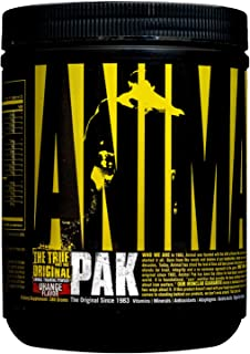 Universal Nutrition Animal Pak Powder, Orange, 22 Servings (388 Grams) by Universal Nutrition