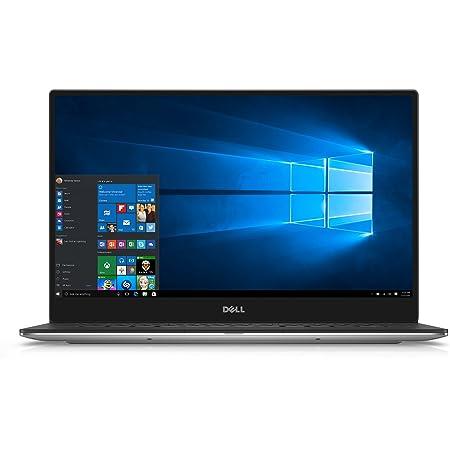 Dell XPS 9350-1340SLV 13.3 Inch Laptop (Intel Core i5, 8 GB RAM, 128 GB SSD, Silver) Microsoft Signature Image