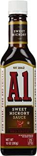 A1 Steak Sauce with Sweet Hickory Bulls-Eye Barbecue Sauce 10 oz by A 1