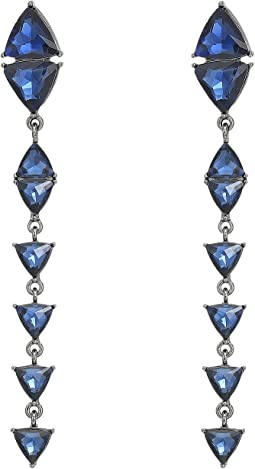 Steve Madden - Triangle Drop Post Earrings
