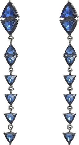 Steve Madden - Triangle Drop Post Earrings
