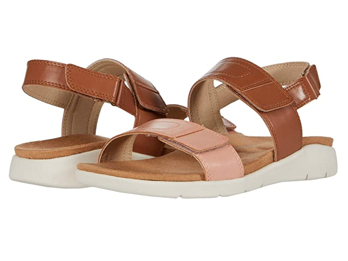 Rockport  Eileen 2 Band (Tan/Apricot) Womens Shoes