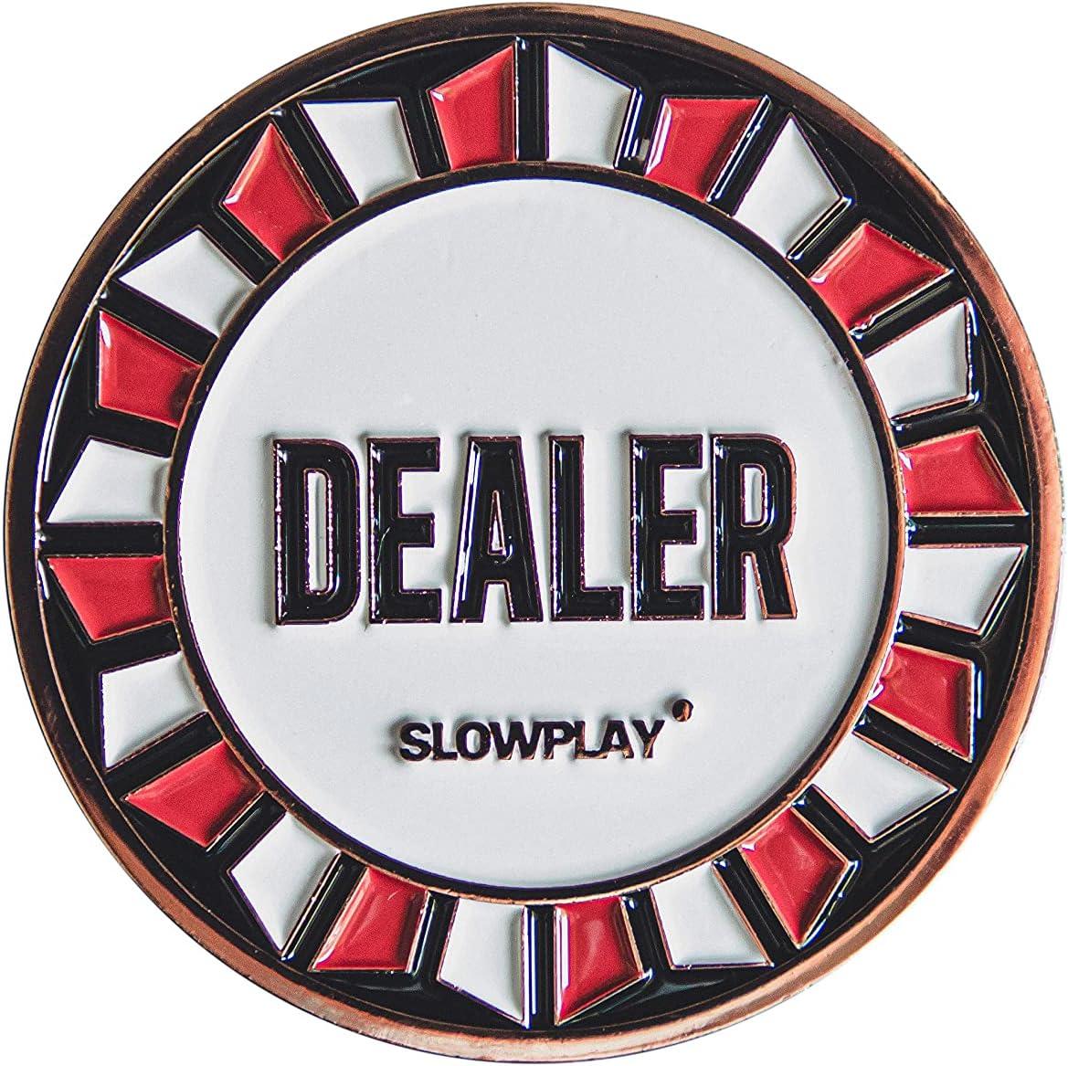 SLOWPLAY Oklahoma City Mall Casino Grade Pro Dealer Holdem Texas Popular products Button Poker for
