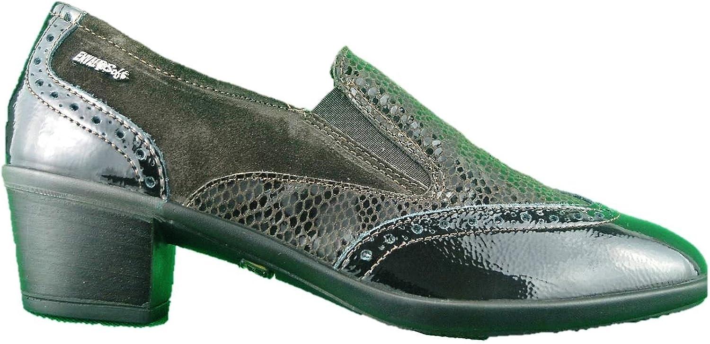 ENVAL SOFT 89255 brown shoes women Mocassini Vernice