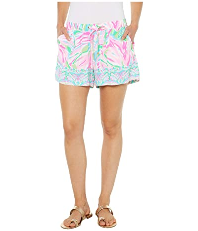 Lilly Pulitzer Katia Shorts (Multi Croc My World Engineered) Women