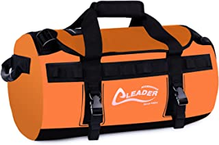 Leader Accessories Deluxe Water Resistant PVC Tarpaulin Duffel Bag Backpack 40L 70L 90L