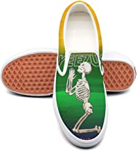Women's Kanye-West-Yeezus-god-wants-you- Canvas sneakers breathable flat skateboard shoe