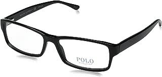 Polo Men's PH2065 Eyeglasses Shiny Black 54mm