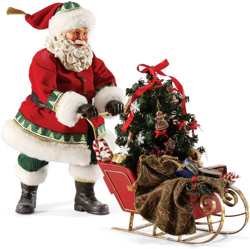 Department 56 Possible Dreams Santas Wonderland List Courier shipping free shipping price Winter Santa Fig