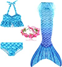 elfin The New Girls Mermaid Swimsuit Suit Summer Beach Makes Your Baby The Most Beautiful Mermaid Princess on The Beach