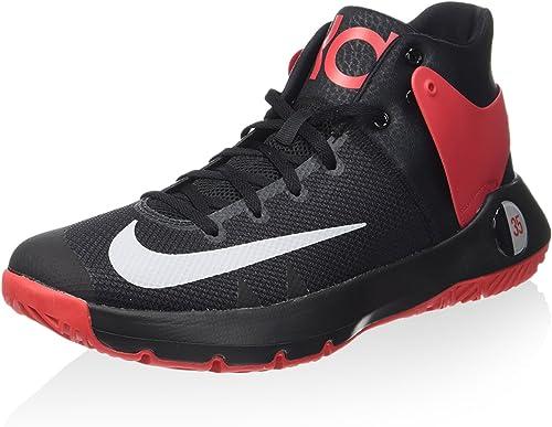 Nike 844571-600, Hausschuhe de Baloncesto para Hombre, rot (University rot Wolf grau schwarz), 42.5 EU