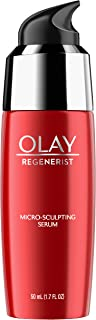 Face Serum with Collagen Peptide by Olay Regenerist, Micro-Sculpting, Advanced Anti-Aging, 1.7 oz