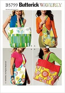 Butterick Patterns B5799OSZ Market Bags Sewing Pattern, Size One Size