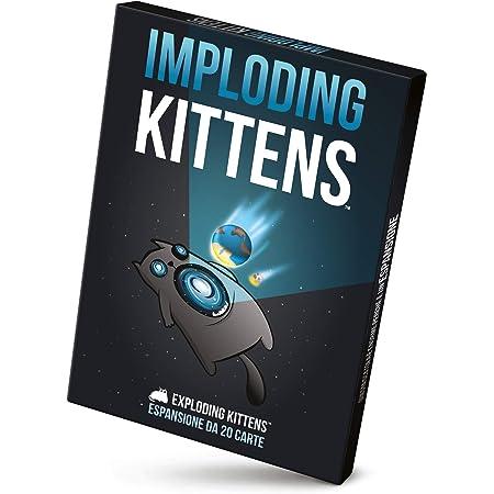 Asmodee - Imploding Kittens, Espansione Gioco di Carte Exploding Kittens, Edizione in Italiano, 8542