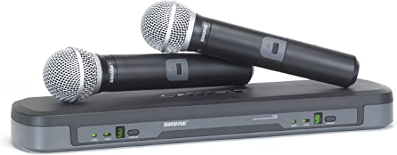 Shure PG288/PG58 Dual Vocal Wireless System, M7