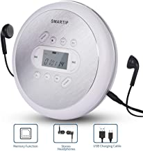 Portable CD Player Personal Compact Disc Player with LCD Display Stereo Headphones and..