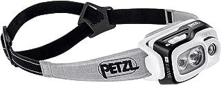 Petzl SWIFT RL - Linterna (Linterna con cinta para cabeza, Fruta del bosque, Gris, IPX4, LED, 1 lámpara(s), 700 lm)