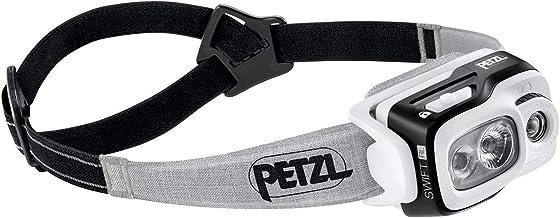 PETZL - Swift RL Headlamp 900 lumens, Reactive Lighting Technology, Black