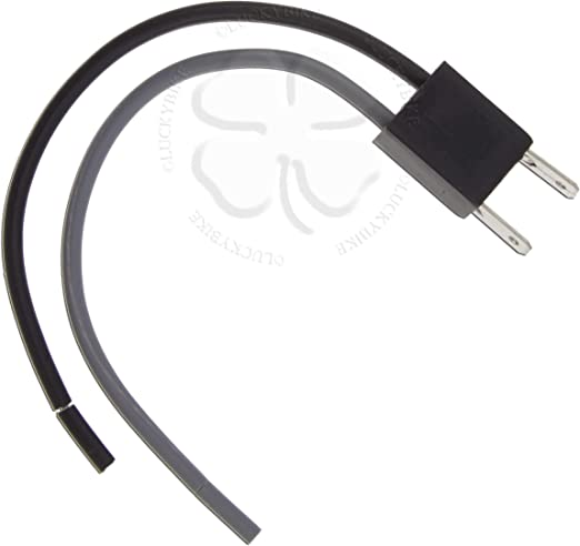 1x Female Headlight Adapter Plug H7 12972 Fog Pin Light Connector Harness Socket
