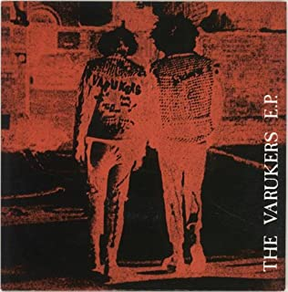 The Varukers E.P. - White Labels