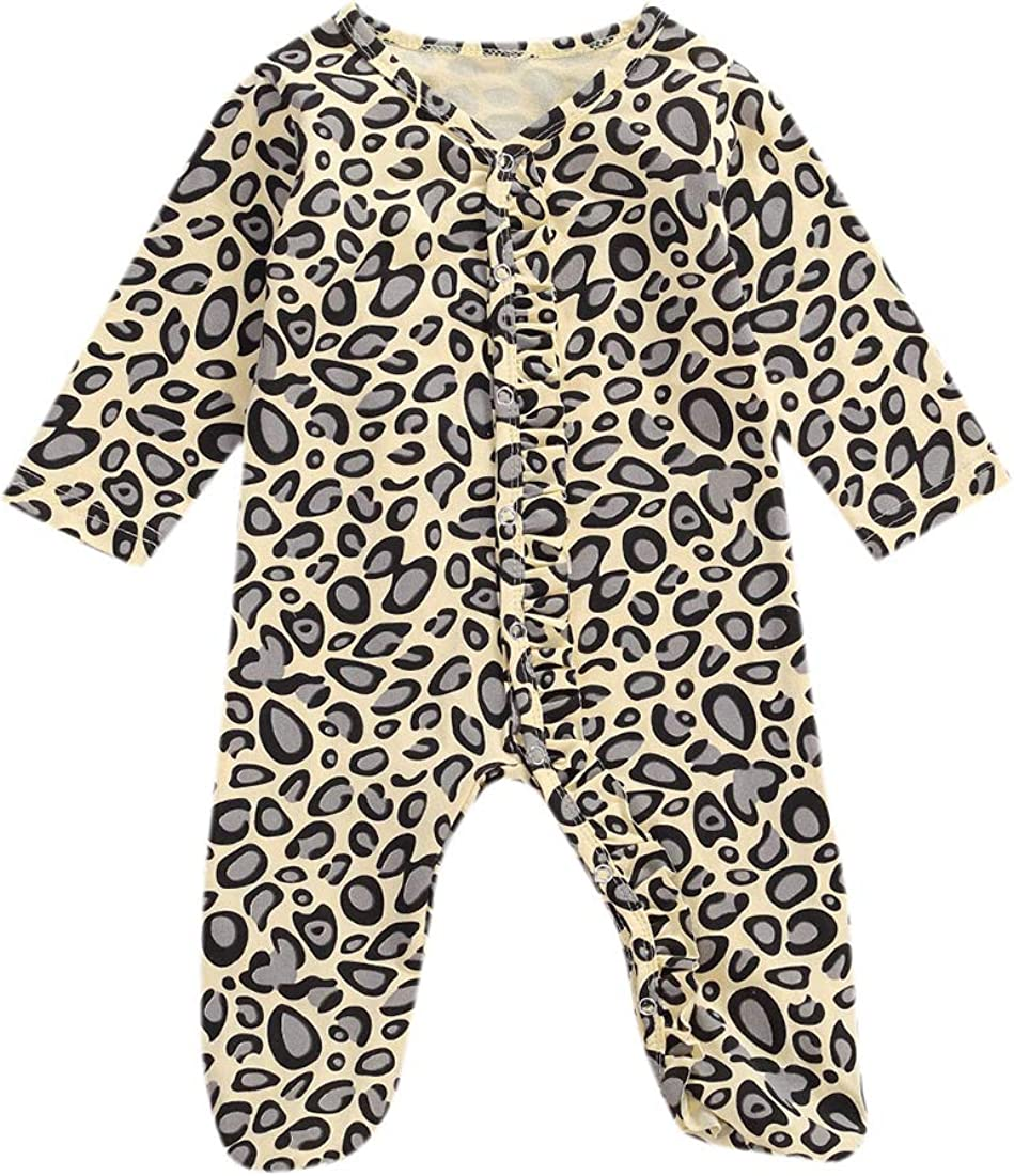Meipitgy Newborn Baby Omaha Mall Girl Knitted Romper Jumpsuit 5 popular F Solid Color