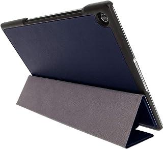 Kepuch Custer Sony Xperia Z2 Tablet Funda - Slim Smart Cover Funda Protectora de PU Cuero para Sony Xperia Z2 Tablet - Azul