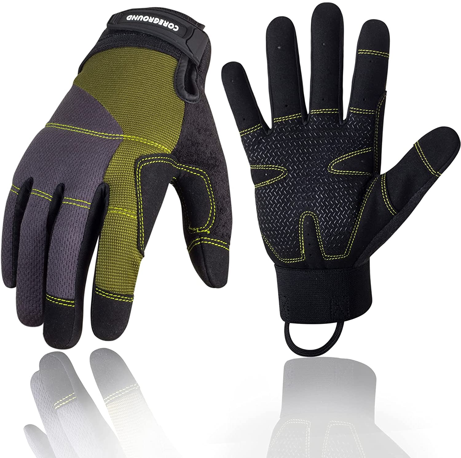 Mechanic Glove Saftey Classic Work Gloves Women Men and Super Special SALE held Touchscreen Sili