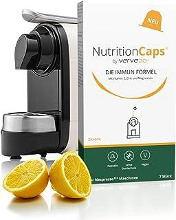 Vervedo® The Immunformel – högdoserat immunkomplex av vitamin C, zink och magnesium – kompatibel med varje Nespresso kaffe...