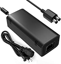 Xbox 360 Slim Power Supply, YCCSKY AC Adapter Power Supply Brick Charger with Cable for Xbox 360 Slim