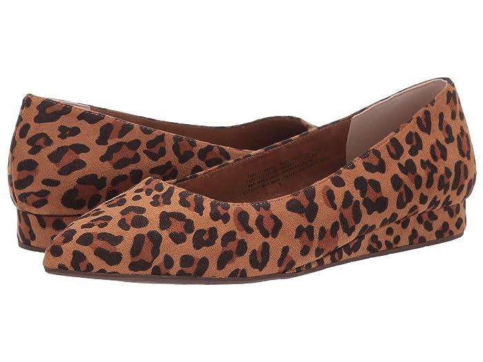 Rockabilly Shoes- Heels, Pumps, Boots, Flats Seychelles BC Footwear by Seychelles Role Model Leopard Suede Womens Flat Shoes $78.95 AT vintagedancer.com