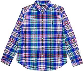 Polo Ralph Lauren Kids Boy's Plaid Cotton Poplin Shirt (Little Kids/Big Kids)