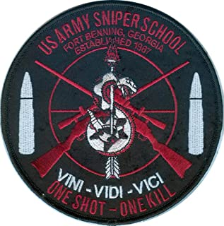 US Army Sniper School embroidered patch - 5